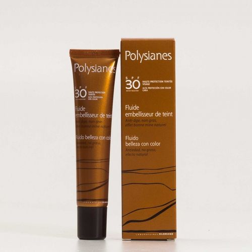 Polysianes fluido con color SPF 30 40 ml